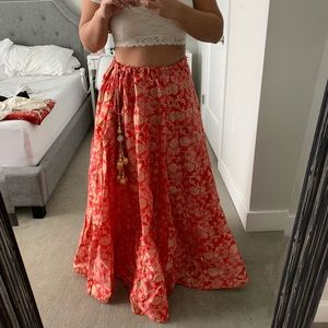 Dresses & Skirts - Beautiful Pink/Gold Indian Lehenga Skirt
